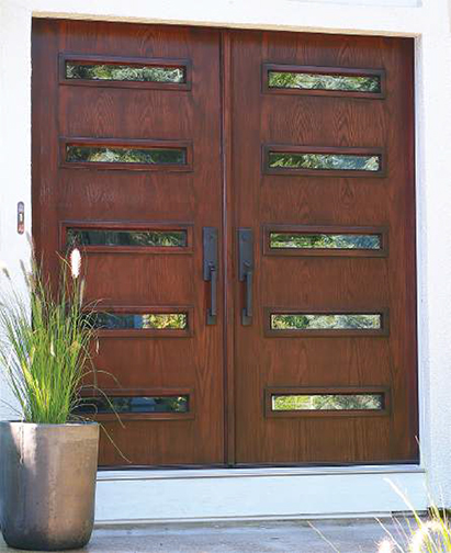 Mid Century Modern Door Madison wi Wood with glass windows