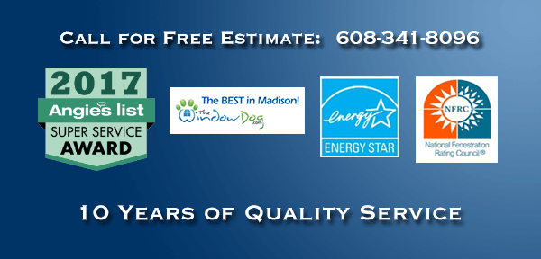 Call for a free estimate - 608 341 8096